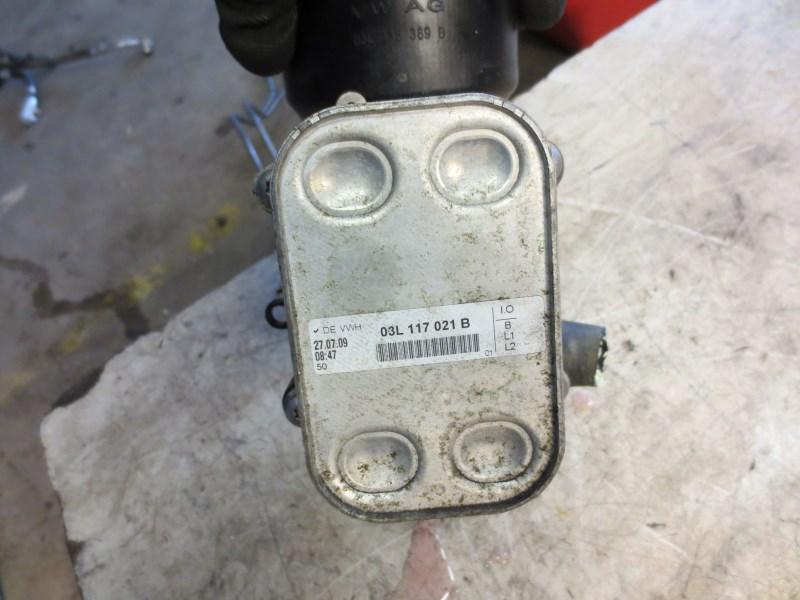volkswagen golf  tdi cayb cayc oliekoeler en oliefilterhuis lb lb parts